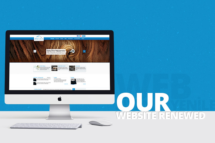 Our Web Site is Renewed